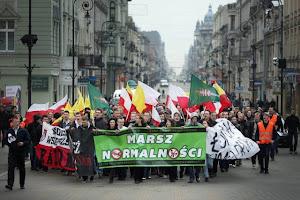 Marsz Normalności przeszedł ulicami Łodzi