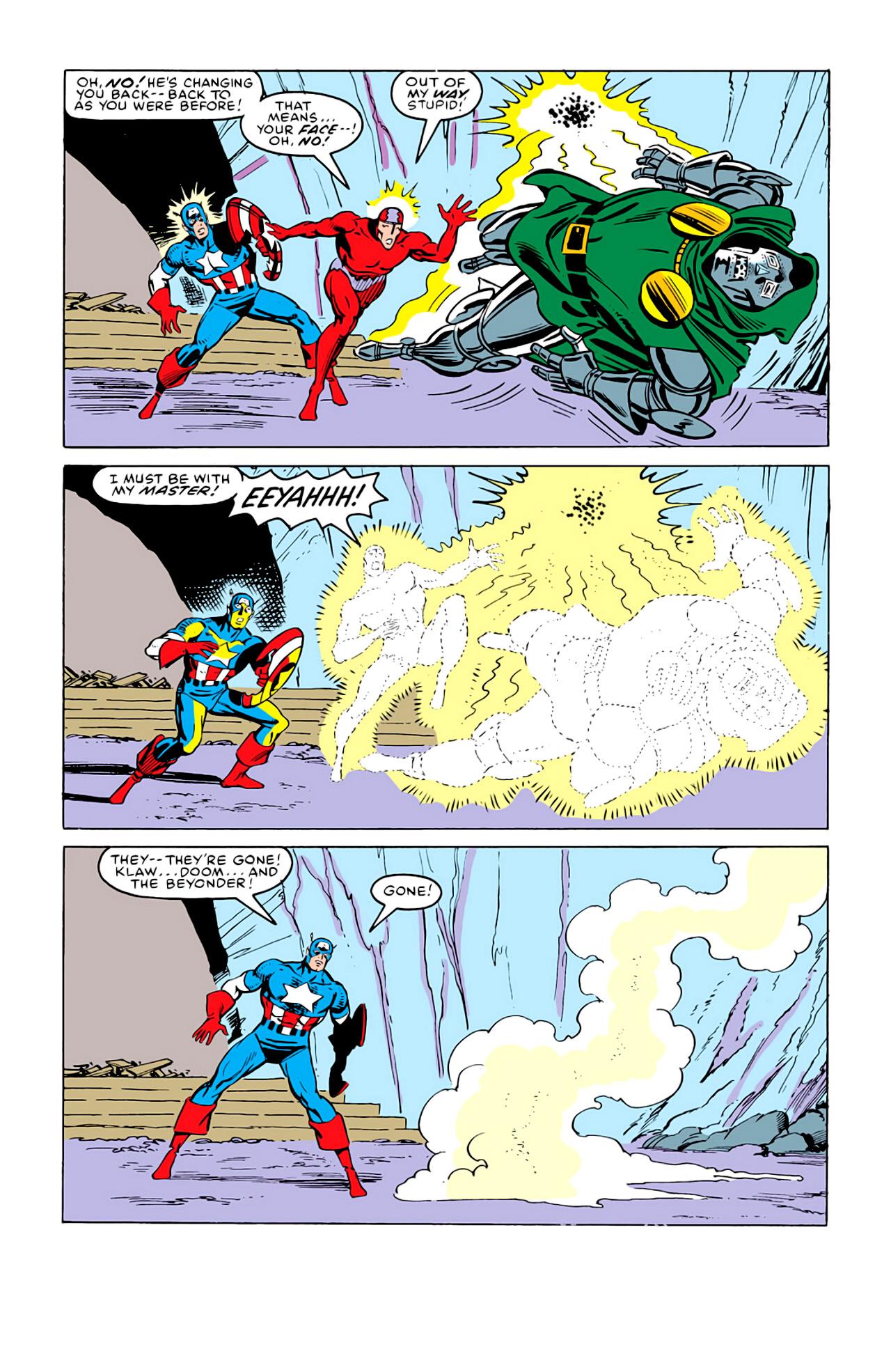 Captain America (1968) Issue #292m #220 - English 34