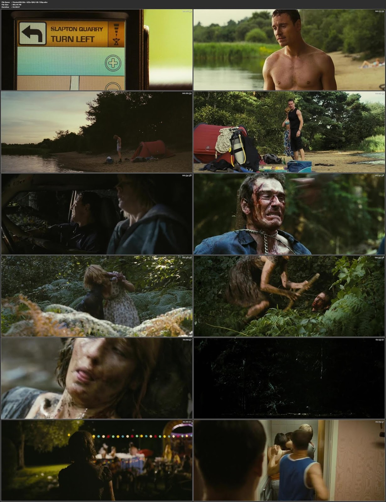 Eden Lake 2008 English Movie BluRay 720p ESubs