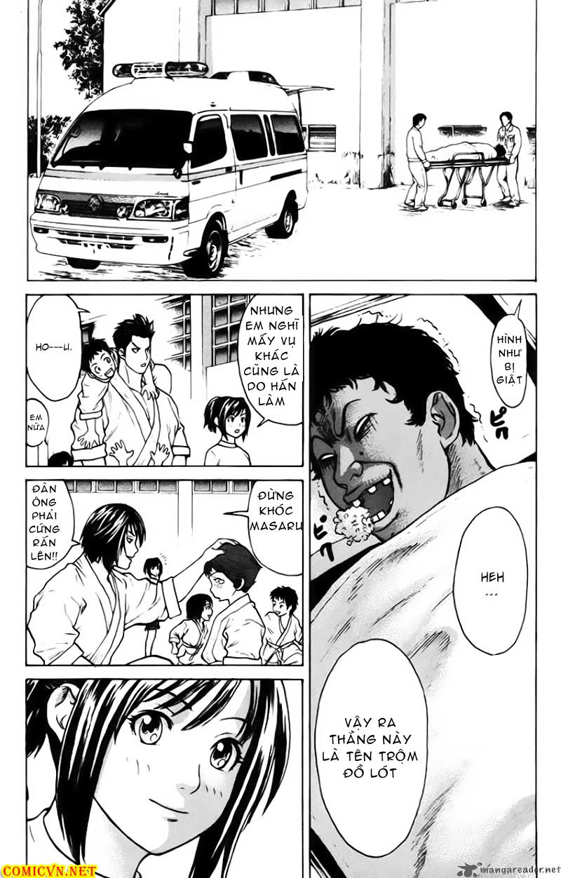 Karate Shoukoushi Kohinata Minoru chap 34 Trang 14