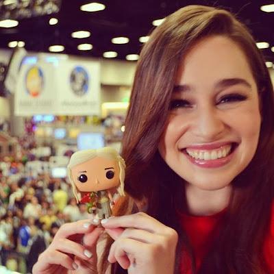 Emilia Clarke Daenerys será sarah connor - Juego de Tronos en los siete reinos