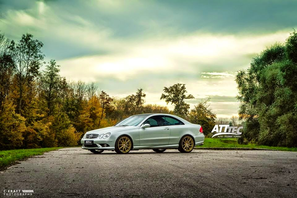 mercedes clk55 amg deluxe wheels