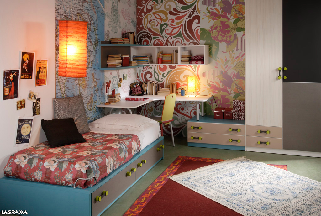 Habitaciones juveniles para adolescentes y jovenes - Decoracion dormitorios juveniles pintura ...