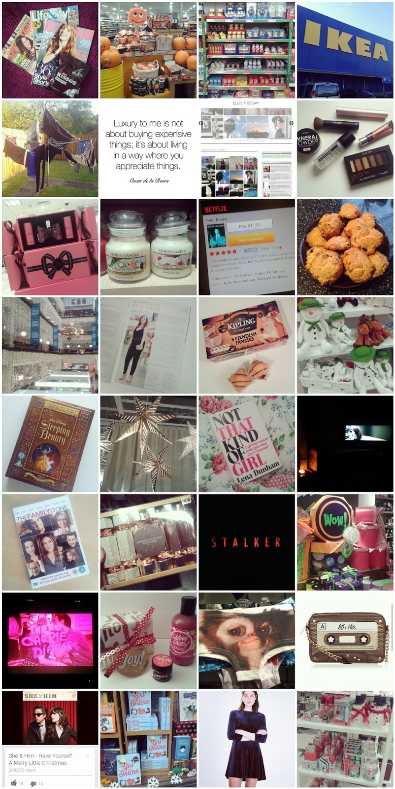 November October 2014 Instagram