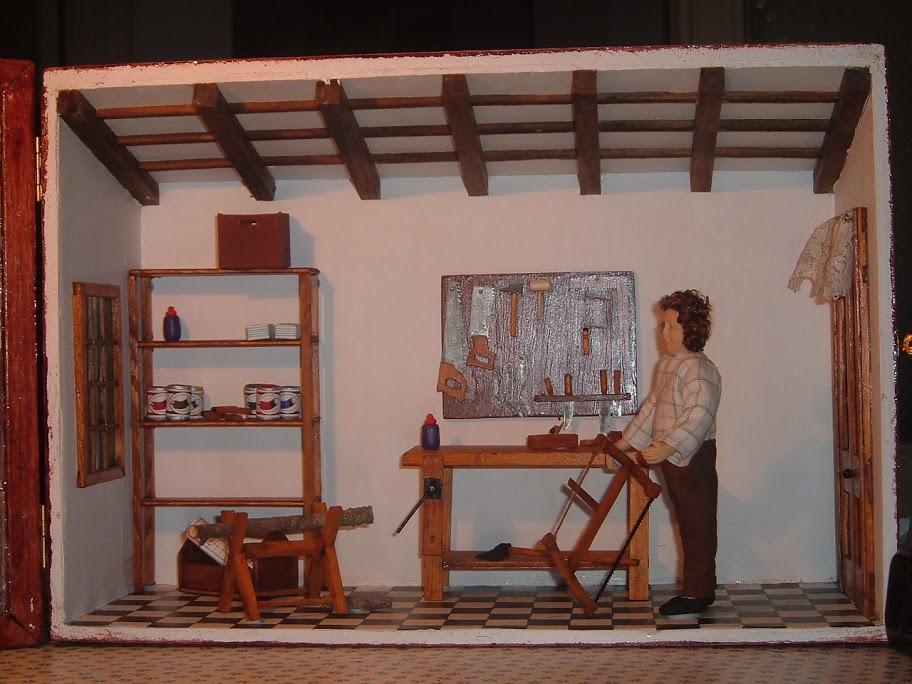 La casa de las labores miniaturas a escala 1 12 - Labores de casa ...