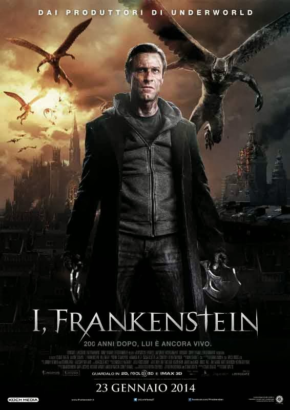 locandina I, Frankenstein