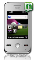Nexian Snap, Nexian Touch Screen