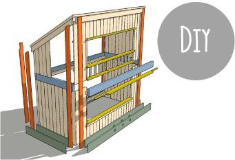 Costruire un letto a castello blog di arredamento e - Costruire un letto a scomparsa ...