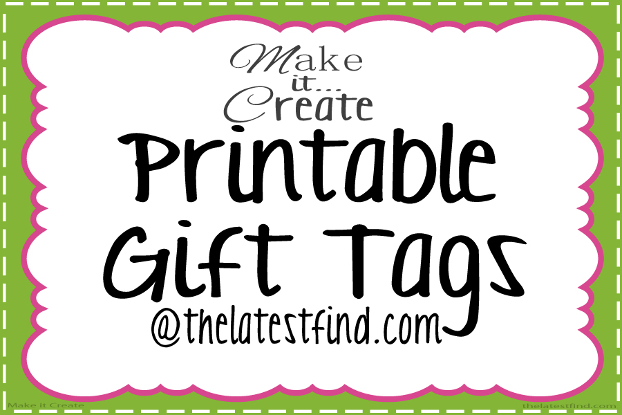 Personalized christmas gift tags free printables rainforest printable christmas gift tags negle Image collections