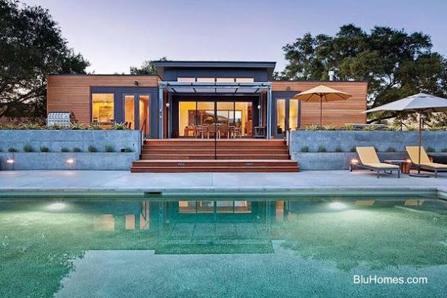Casa prefabricada en América del Norte
