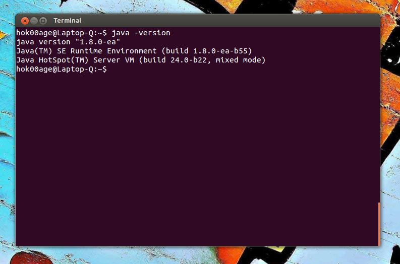 Oracle Java 8 menjadi default Java
