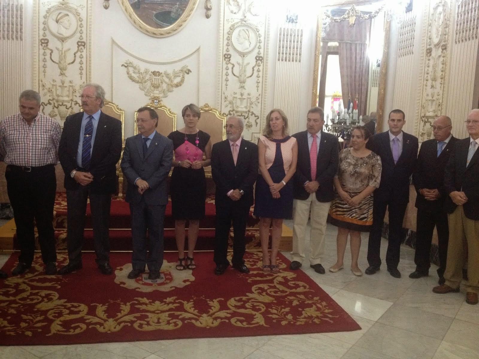 Recepción Casas Regionales de Ceuta 2014 .