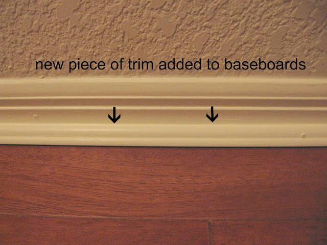 baseboard and trim for engineered hardwood floors, glued down wood floors