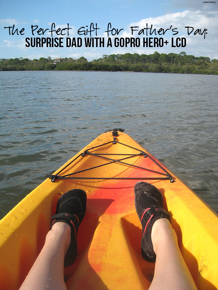 The Perfect Gift for Father's Day: Surprise Dad with a GoPro Hero+ LCD