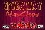@29 apr : GIVEAWAY NisaChoc & ZulFoto