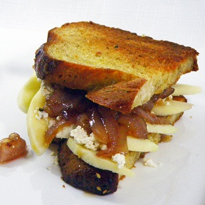 52 Ways to Cook: Grilled Cheese Sandwich - Feta, Apple and ...