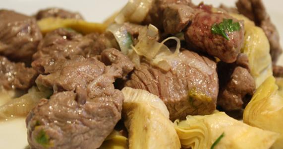 Carne con alcachofas recetas de cocina cocinar facil for Cocinar con 5 ingredientes