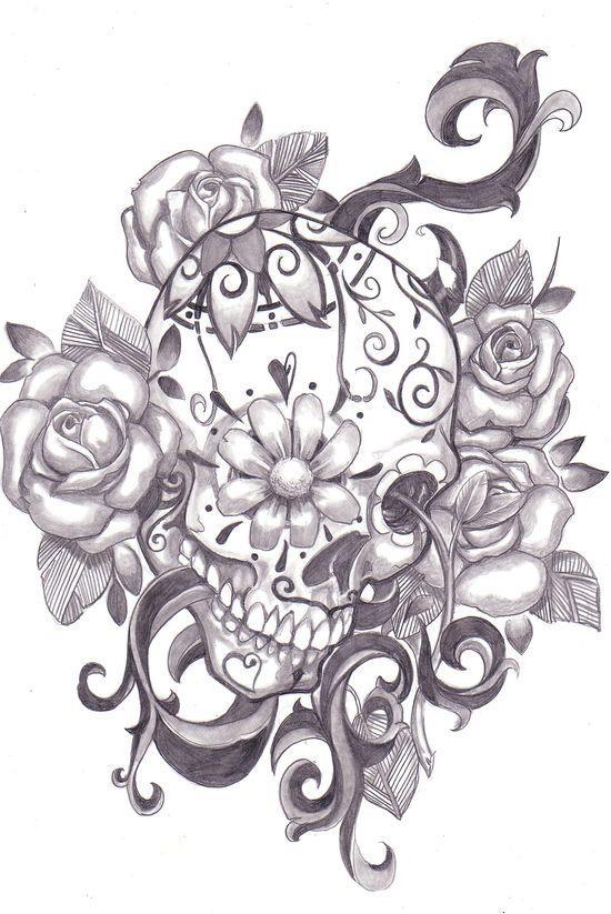 Tattoo ist bocetos calaveras mexicanas