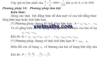 19 chiêu giải toán bất đẳng thức, phuong phap chung minh bat dang thuc