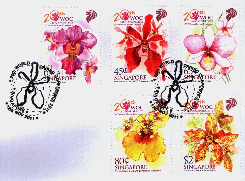 Pre-cancelled First Day Cover (S$5.05)