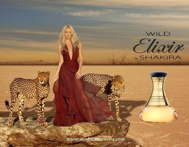 Moda en Perfumes Importados.Wild Elixir by Shakira
