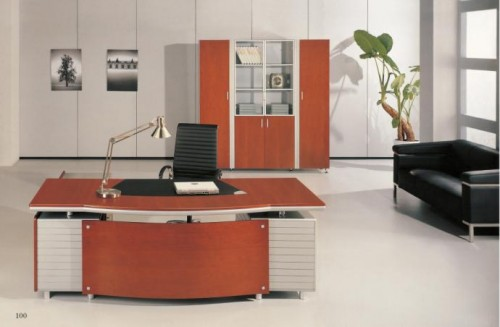 Office furniture desks computer desks ideas to improve your productivity home design interior - Colors home office can enhance productivity ...