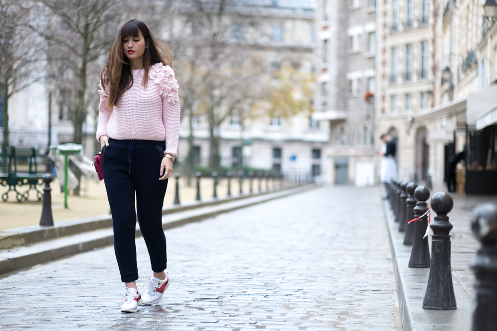 Streetstyle, Blogger, Look, fashion, Chic style, Pink, Meet me in paree, Paris blogger