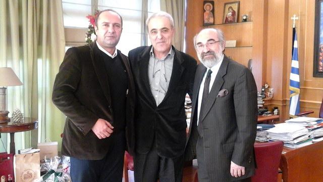 Επίσκεψη του προέδρου του Κέντρου Ανανεώσιμων Πηγών και Εξοικονόμησης Ενέργειας στο Δημαρχείο Αλεξανδρούπολης