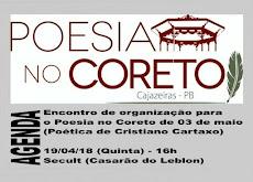 POESIA NO CORETO - AGENDA