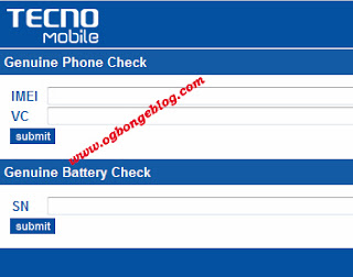 genuine Tecno check