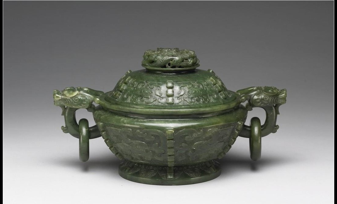 Green Nephrite Incense Burner Collection