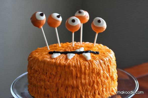 Le gateau monstre d\u0027halloween