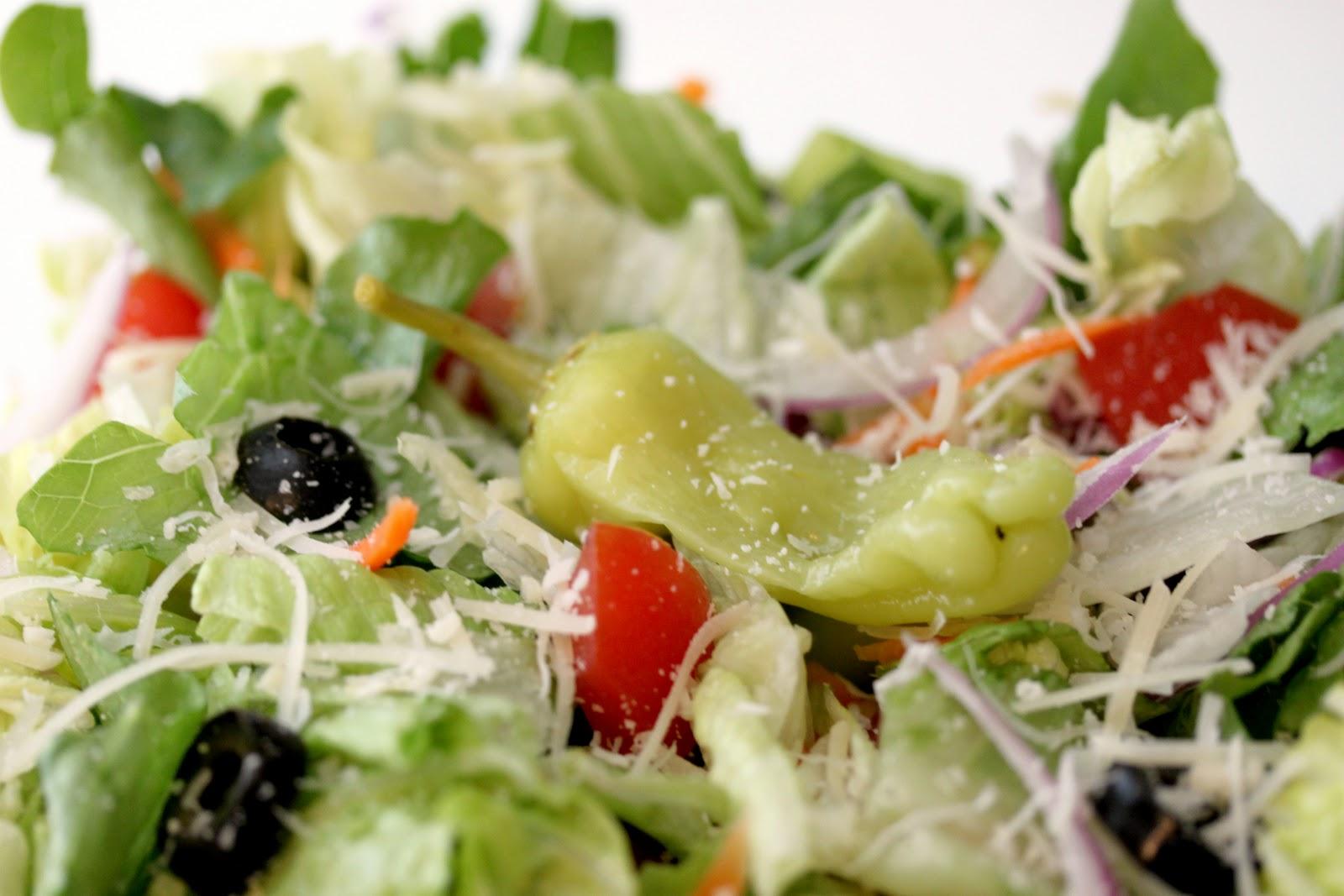 Gingersnaps Olive Garden Salad
