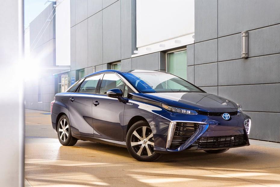 Mobil Hidrogen Pertama dari Toyota,Toyota Mirai 2015