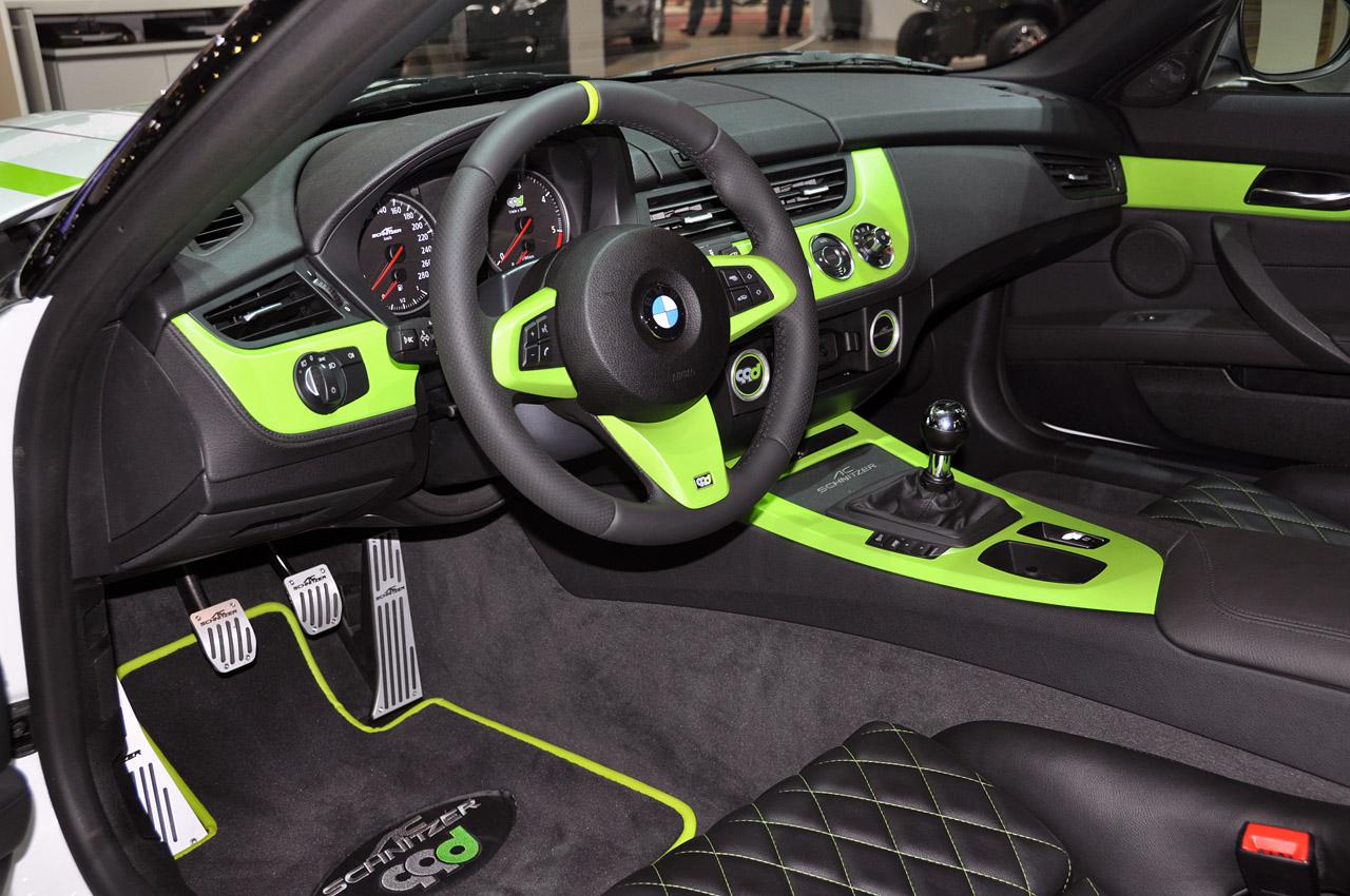 2011 BMW Z4 AC SCHNITZER 99D INTERIOR DETAIL