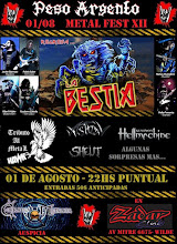 Fecha Remendada: PESO ARGENTO METAL-FEST