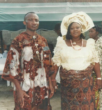 MR AND MRS GOLD TAMUNOSIKI MONDAY DURING SIKI DEDICATION CELEBRATION