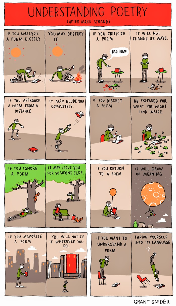 Understanding Poetry from Grant Snider