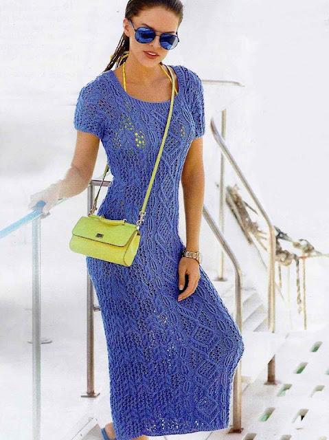 letnia sukienka na drutach