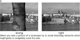 Совет 2. Если вы снимаете пейзаж, следите за тем, что бы в кадр не попали лишние объекты