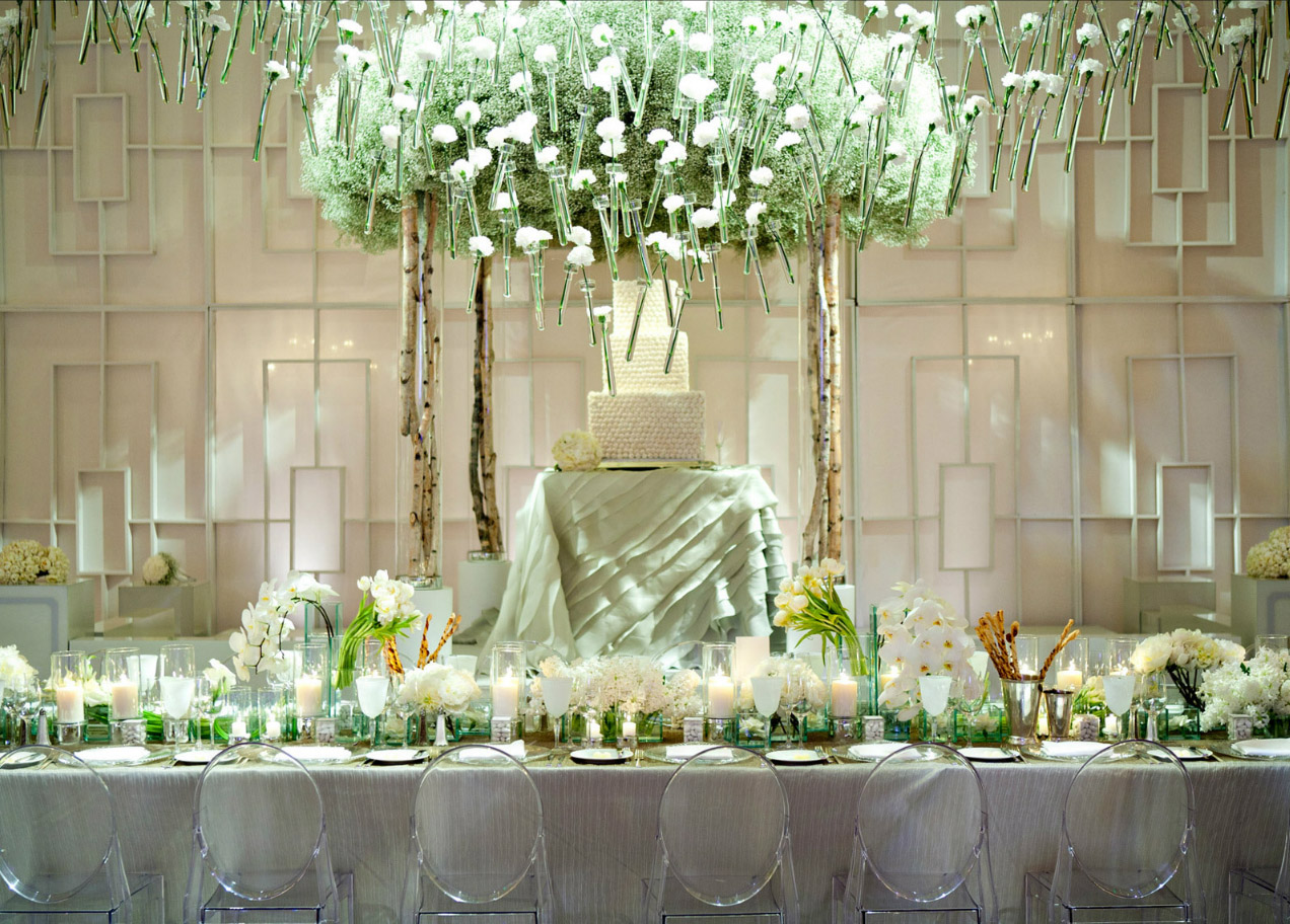 Elegant buffet table decoration pictures - Reception Images Of Wedding Reception Buffet Table Decorations