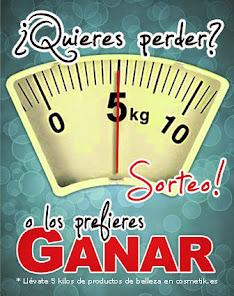 """""""Sorteo en cosmetik – 5 kilos de belleza"""""""