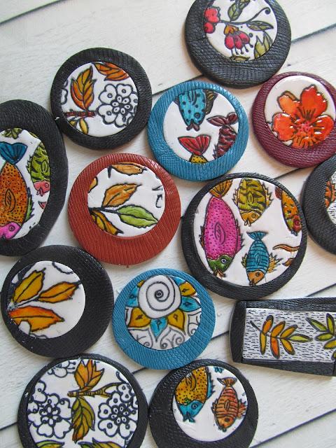 polymer clay,hilla bushari, hillovely,free fimo tutorial,