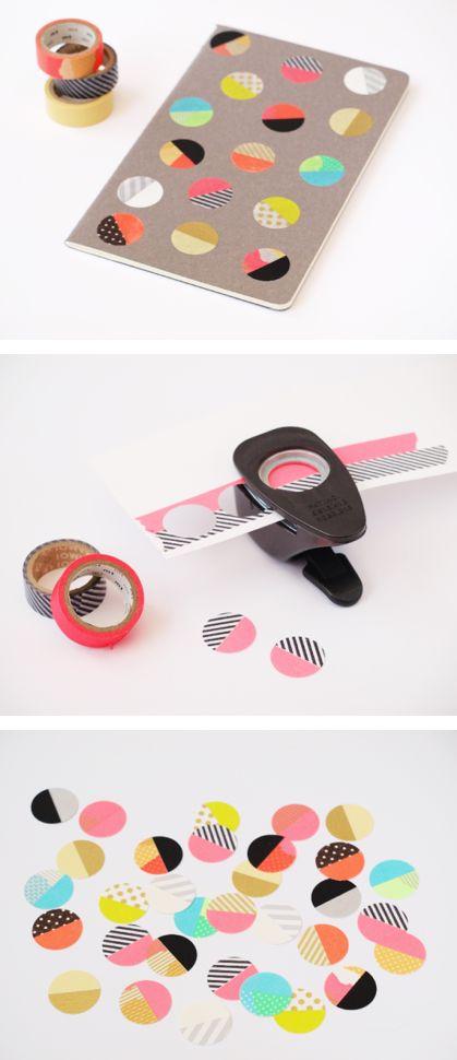 Idea con Washi tape