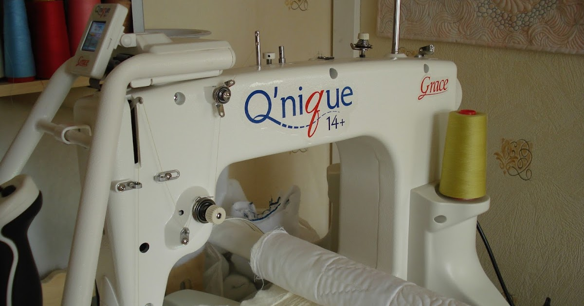 The Nifty Stitcher Review Of Q Nique Quilting Machine