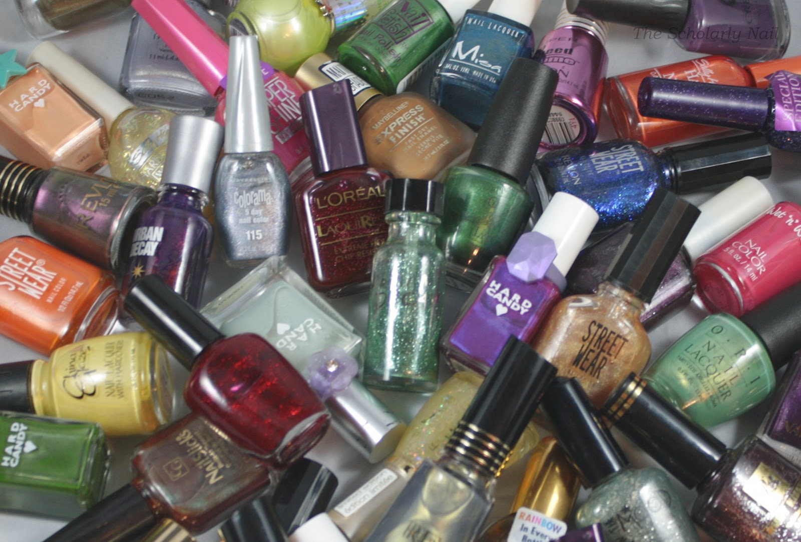 The Scholarly Nail Letu0026#39;s Talk About Vintage Nail Polish!