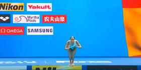 Ona Carbonell, medalla de plata en el mundial de natación
