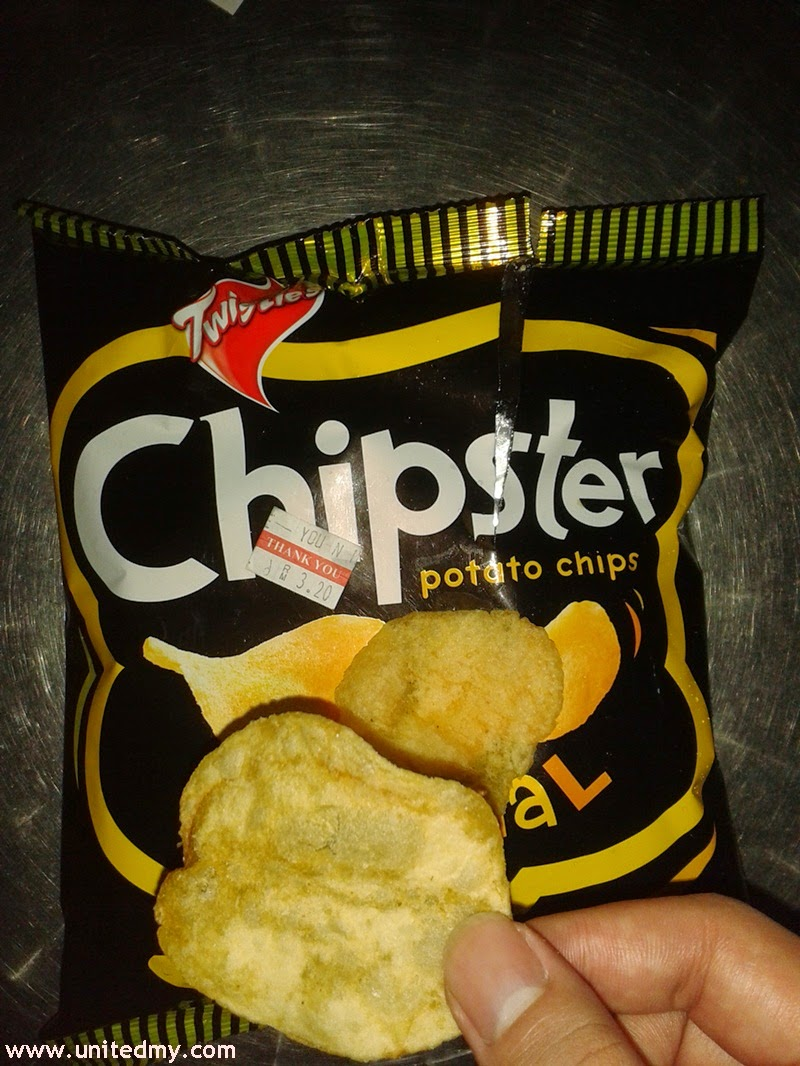 Twisties Chipster potato chips