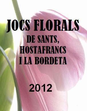 Jocs Florals de Sants, Hostafrancs i la Bordeta - 2012
