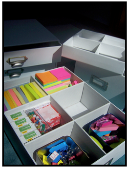 Office Supply Classroom Storage and Organization {photos, tips, ideas}